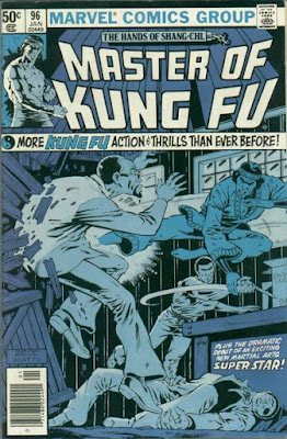 Master of Kung-Fu #96, Shang-Chi