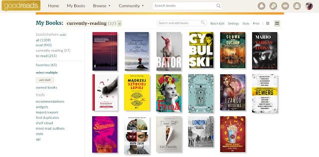 goodreads książki czytanie kreatywa