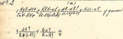 Solución del estudio de José Mandil Pujado, Nº 2, 1932