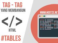 Tag - Tag Yang Membangun HTML: Tables