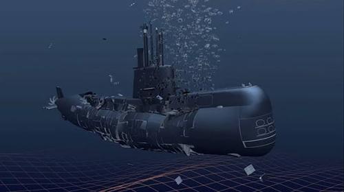 Tenggelam, KRI Nanggala-402 Terbelah Jadi 3 Bagian