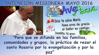 papa Francisco, misioneros, intención misionera