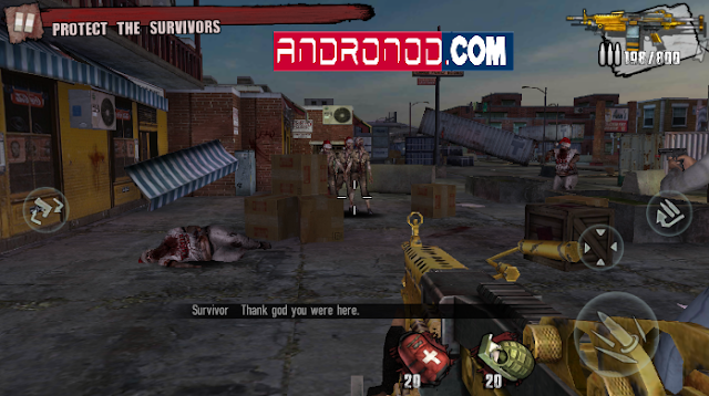 Zombie Frontier 3 Mod Apk Versi 1.62