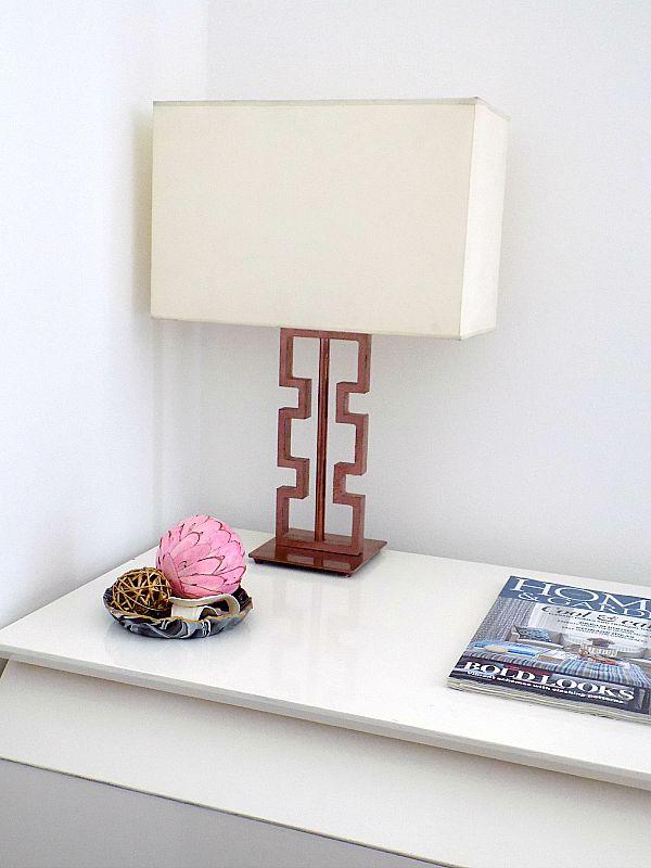 Table lamp diy