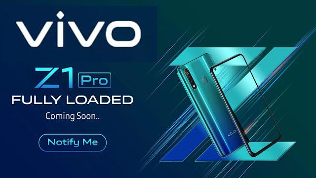 Vivo Z1 Pro Fully Loaded Launch in India Buy Online On Flipkart