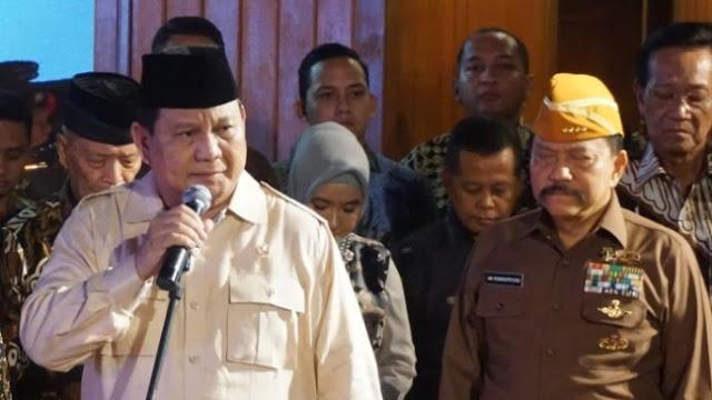 Menantu Hendropriyono Digadang Jadi Wakil Panglima TNI, Ini Kata Prabowo