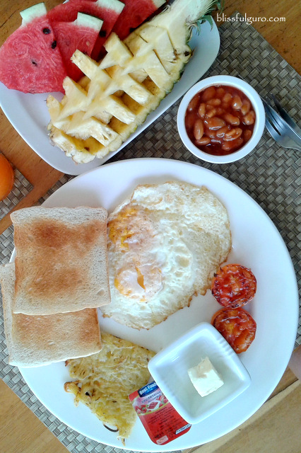 Soontreeya Lanta Resort Vegetarian Breakfast