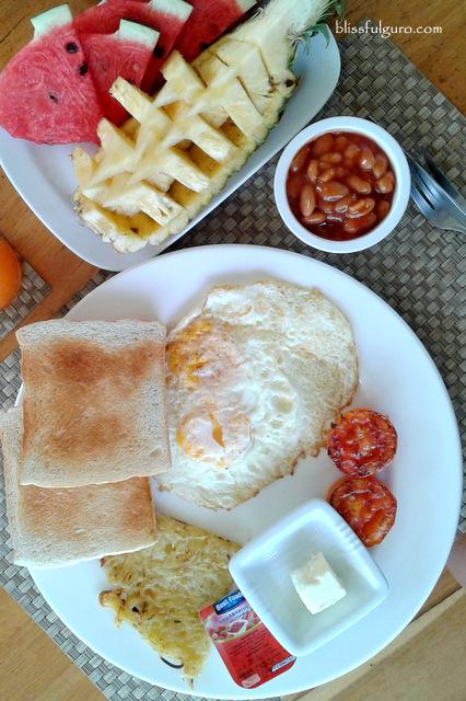 Soontreeya Lanta Resort Vegetarian Breakfast