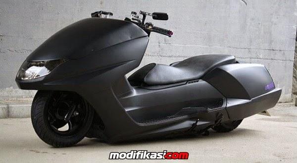 Gambar Modifikasi Motor Scooters