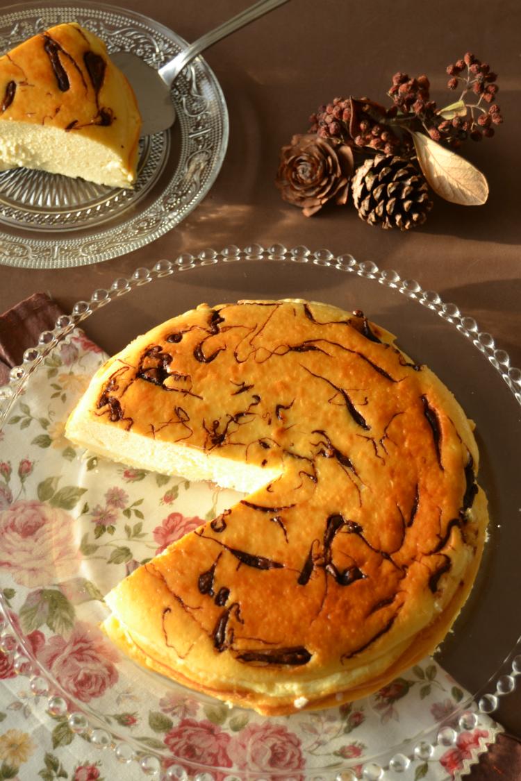 tarta-de-queso-y-trocitos-de-chocolate