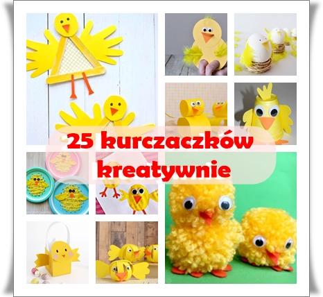 25 wielkanocnych kurczaczków
