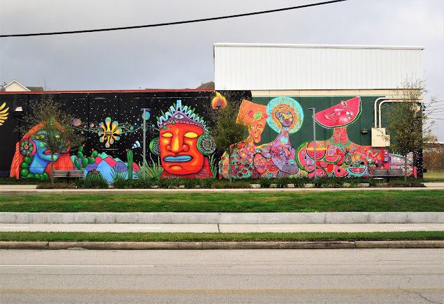 New murals on Jensen Drive at TBH (2016)