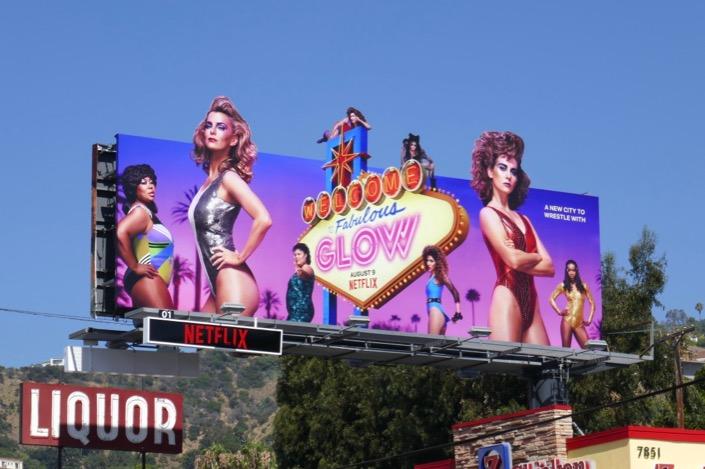 GLOW season 3 extension billboard