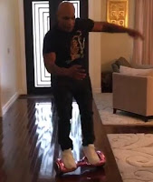 Mike Tyson Fall Of The Hoverboard - Watch Video
