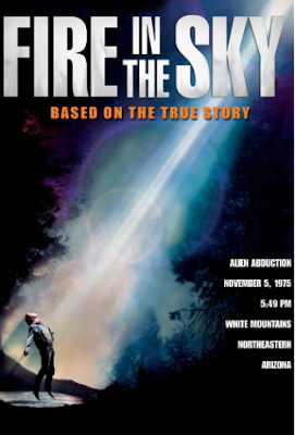 Poster - Fire in the Sky, 1993