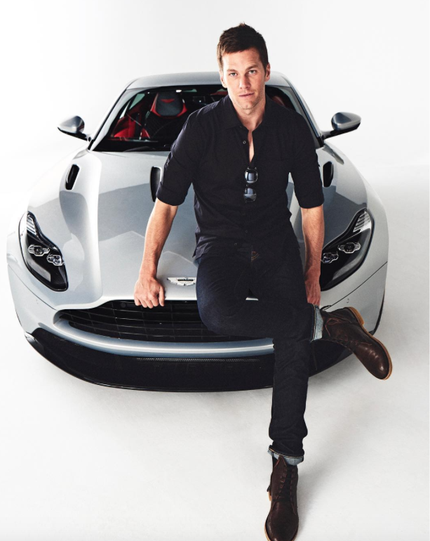 b0ba90c9 Tom Brady has lent his name and face to another new product, and this time  the Patriots quarterback is getting into high-end luxury cars.