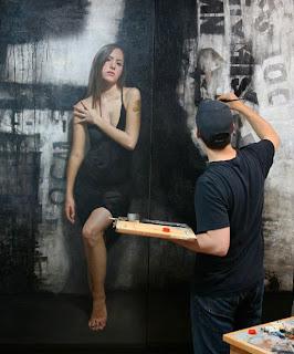 pintura hiperrealista