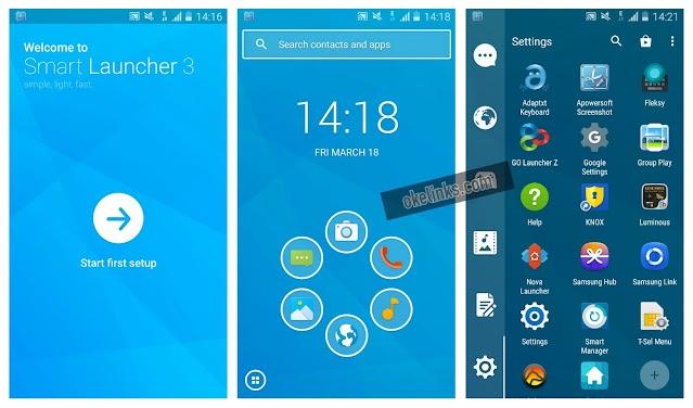 Download aplikasi smart launcher 3 untuk android apk