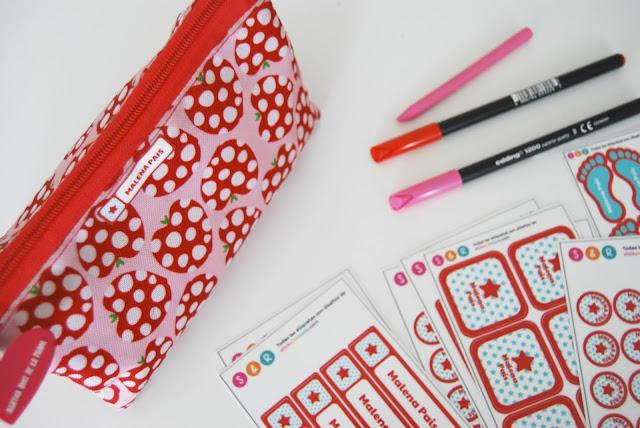 Etiquetas para niños sin coser ni planchar