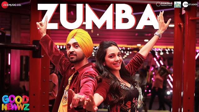 जुम्बा Zumba Lyrics – Good Newwz