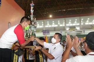 Penutupan Kejuaraan Taekwondo Poomsae 2020, Wagub Berharap Banyak Atlet Berprestasi dari Cabang Taekwondo