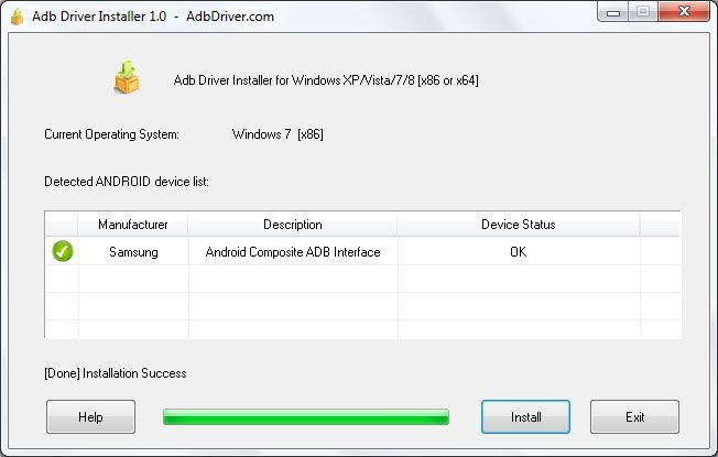 ADB Driver Installer v6.0 for Windows XP/Vista/7/8/10