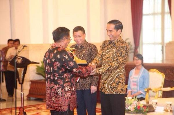 Pemberian Penghargaan Wahana Tata Nugraha 2015 oleh Presiden Joko Widodo