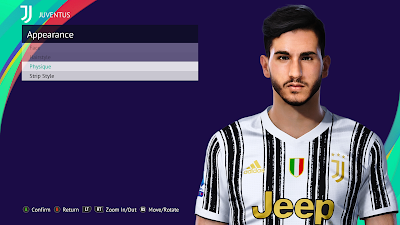PES 2021 Faces Gianluca Frabotta by LR7