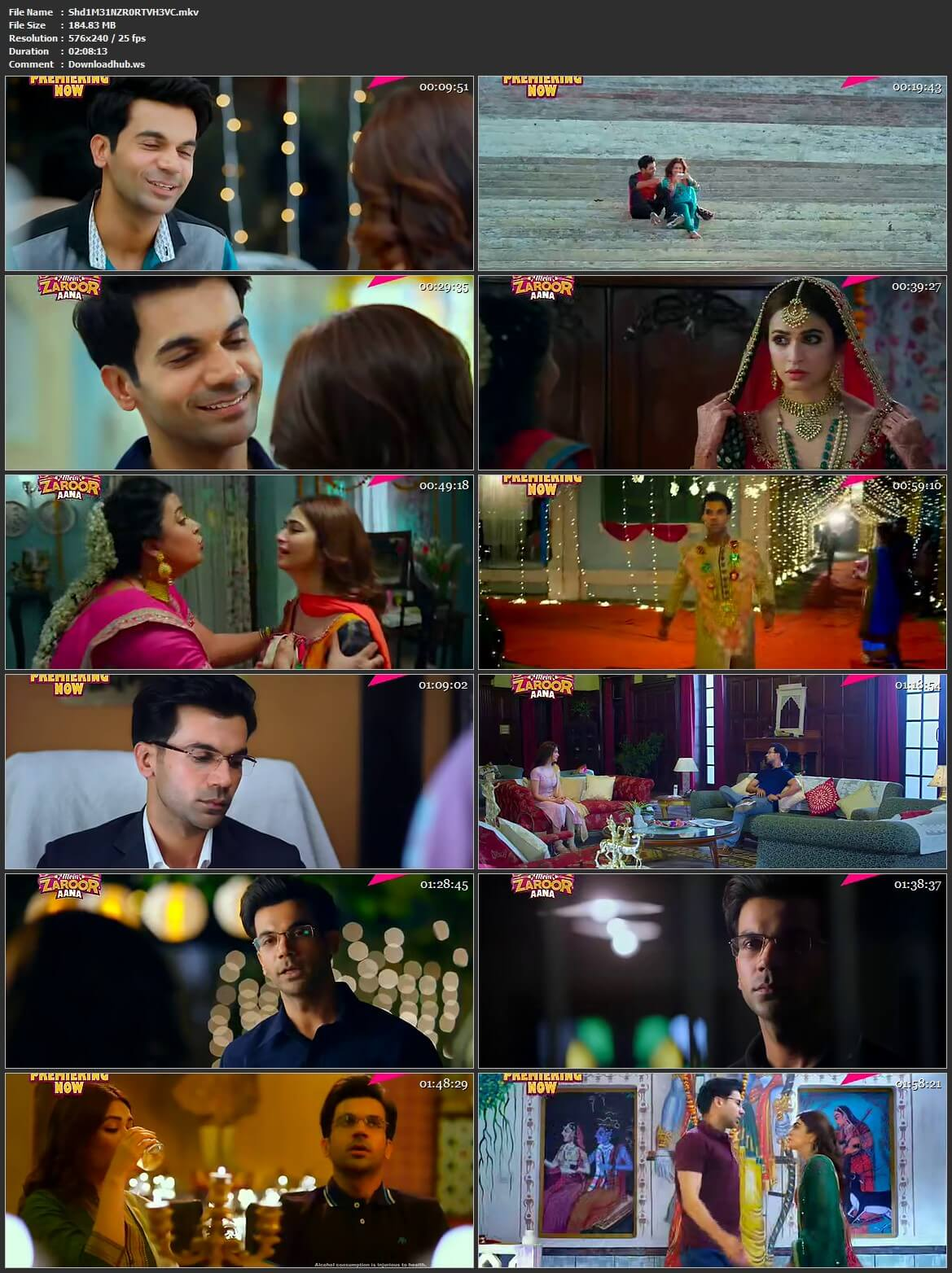 Shaadi Mein Zaroor Aana 2017 Hindi HEVC Mobile HDTV
