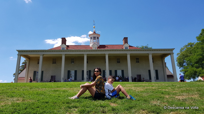 Mount Vernon, Casa de George Washington