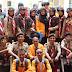 UKM Pramuka UNM menunjukkan eksistensinya di Kegiatan PKKMB  Universitas Negeri Makassar