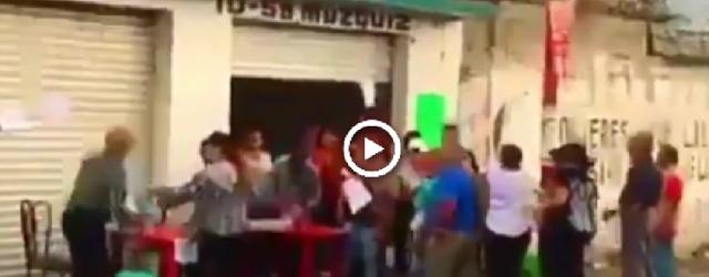 """¡ES UNA LÁSTIMA! Circula grabación mostrando a personas que de manera """"cínica"""" vende su voto (Video)"""