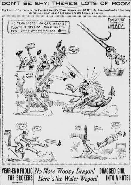 Early Sports and Pop Culture History Blog: Beer Wagons, Water Wagons