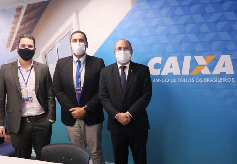 Hildo Rocha cobra celeridade na instalação de agências da CEF e solicita implantação de unidade da instituição em Governador Edison Lobão