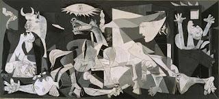 contoh karya pablo picasso: guenica