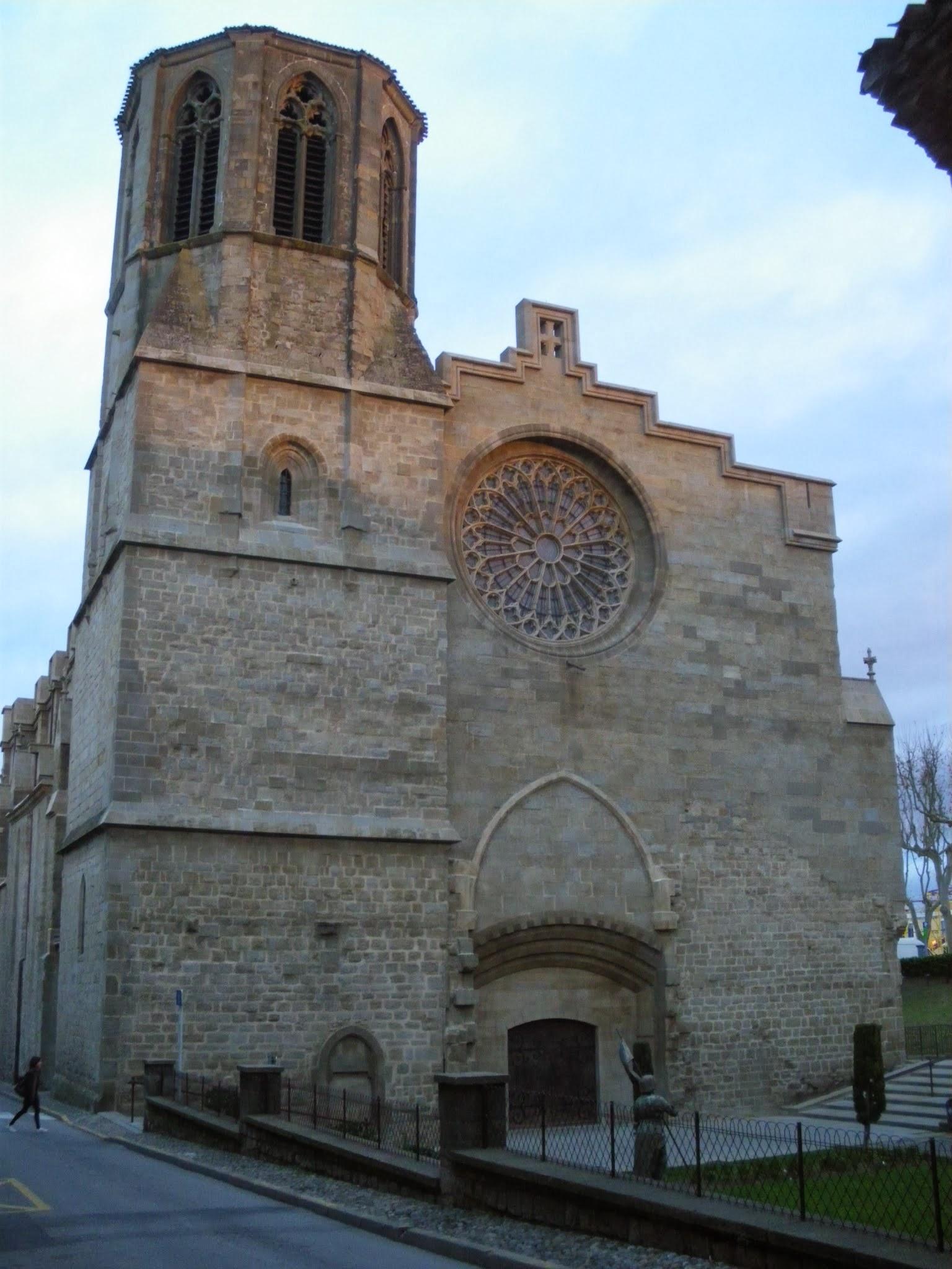 Catedral Saint Michel Bastide de Saint Louis Carcassonne Aude