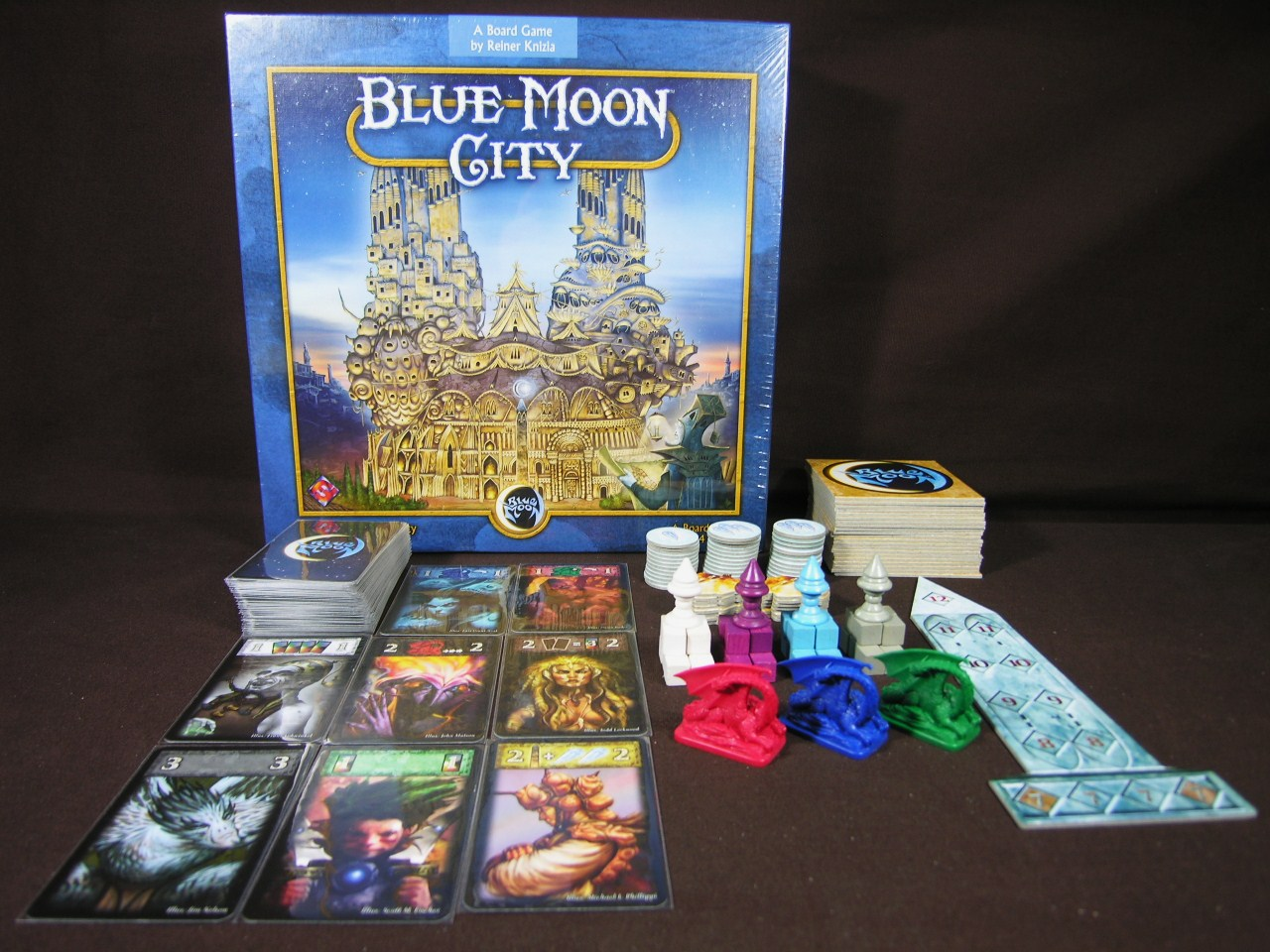 blue moon city juego de mesa