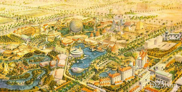 Westcot Disneyland Concept Art