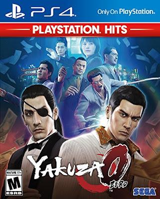 Yakuza 0 Game Cover Ps4