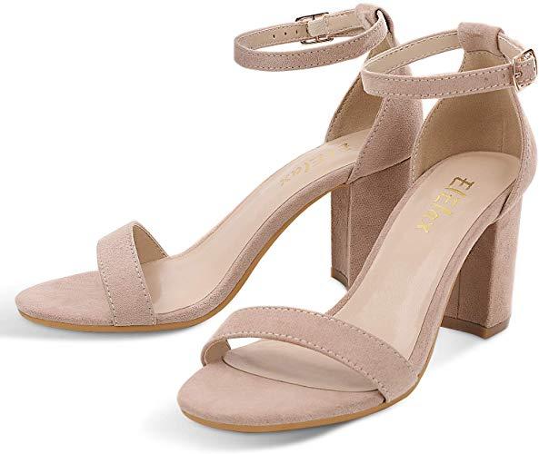 50% off Women's 3 Inch Nude Heels