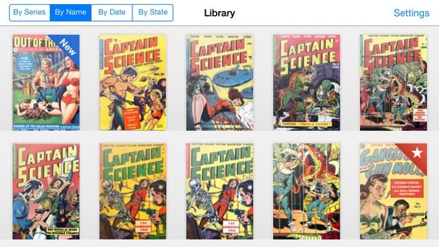 أفضل تطبيق لقارئ الكتب المصورة للايفون