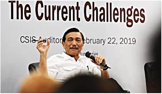 Menko Luhut Akui Utang Indonesia Memang Naik Tapi Masih Dalam Batas Aman
