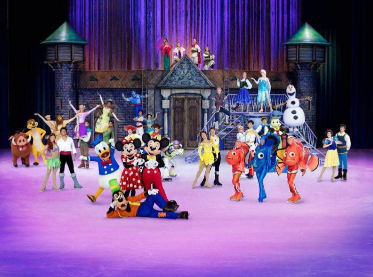 What is Disney on Ice road trip adventures?