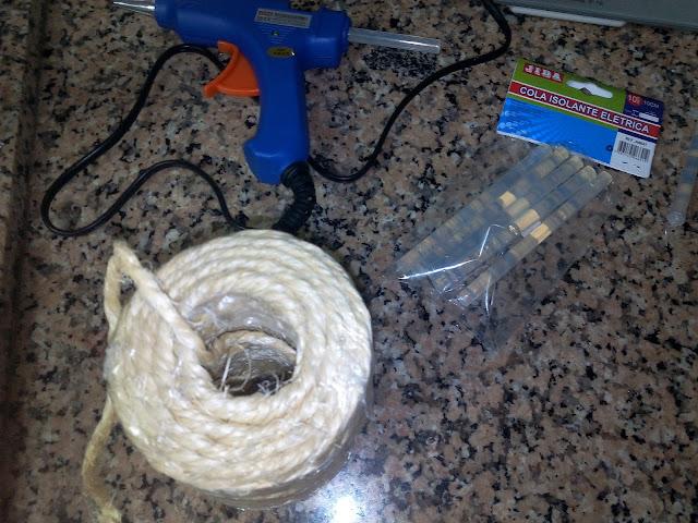 cordão de sisal