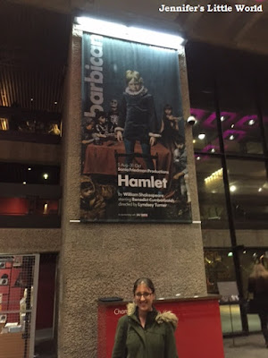 Watching Hamlet with Benedict Cumberbatch at the Barbican, London