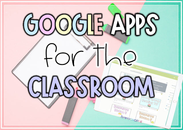 Google Apps for the Remote teaching classroom to use when distance learning in grades 4 5 6