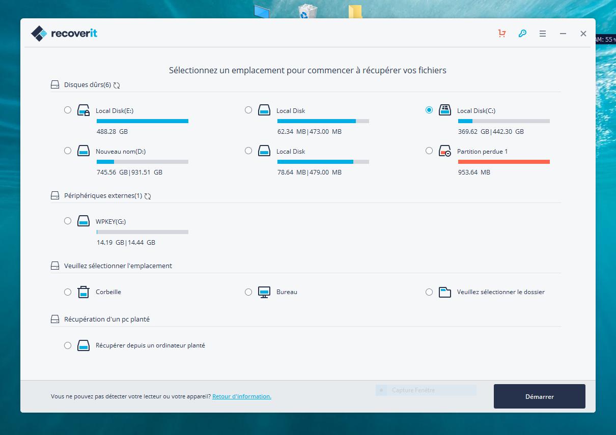 تحميل أفضل برنامج لإسترجاع المحذوفات Wondershare Recoverit 8.1.1.4