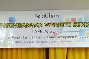 Pengalaman ikut Pelatihan Pengembangan Website Sekolah Tahun 2019, Hari ke sekian menjadi Operator Sekolah