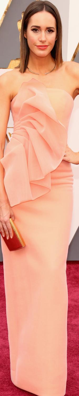 Louise Roe 2016 Oscars