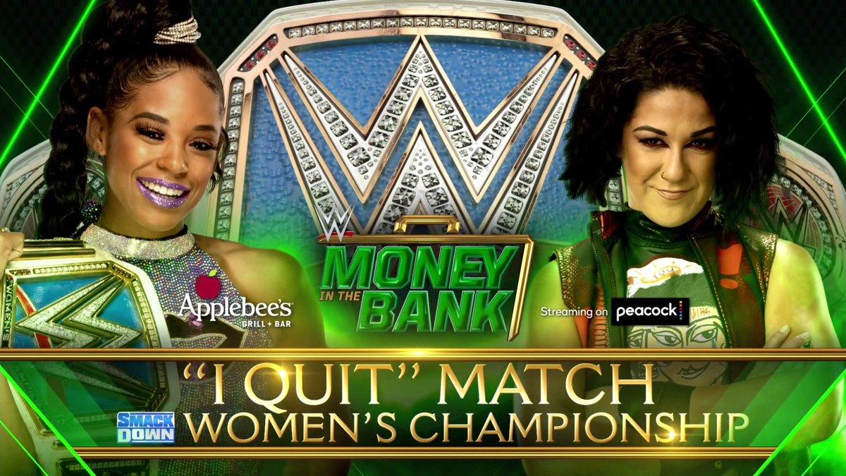 I Quit Match é anunciada para o WWE Money in the Bank